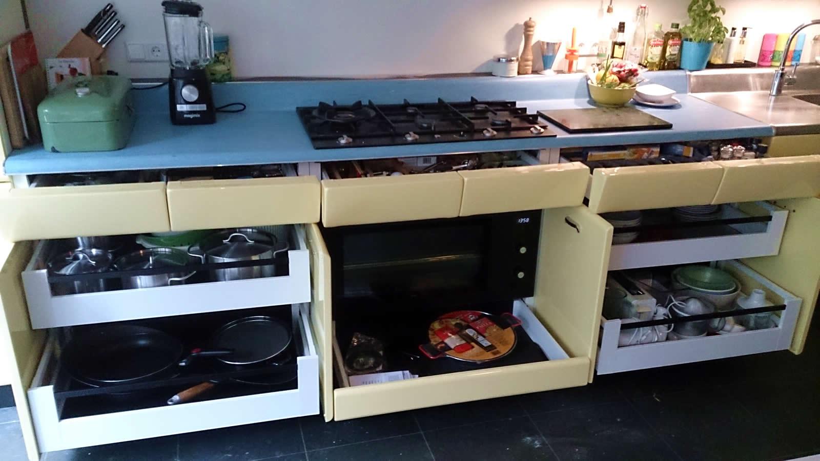 Keuken lade systeem